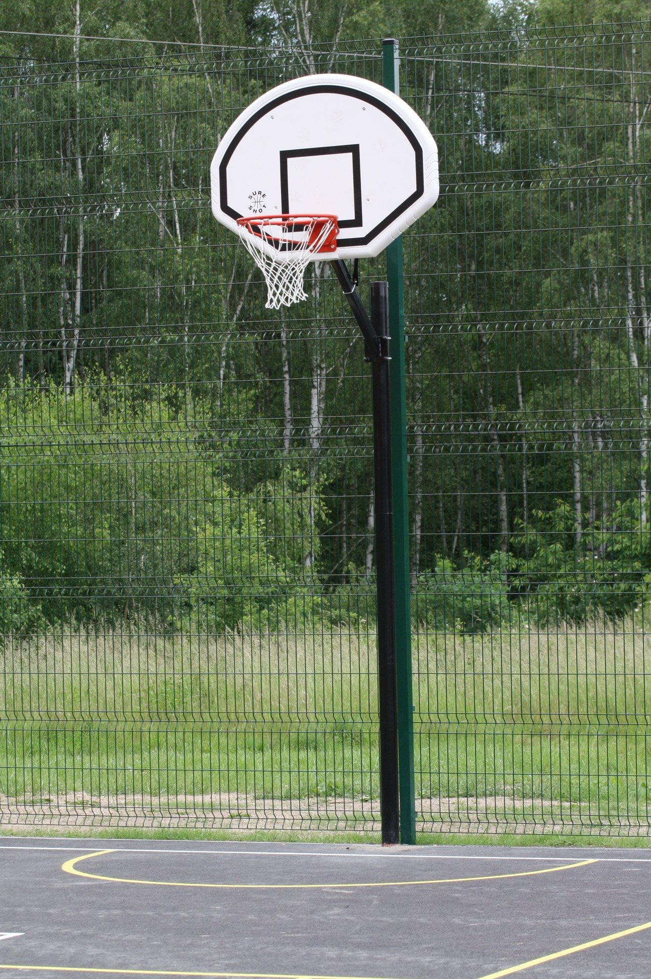 Basketbalová konstrukce SURE SHOT Home Court System